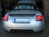 Audi TT 3.2 Cabrio Heckansicht
