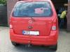 Opel Agila: Heckansicht