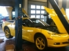Chevrolet Corvette V8 Prins VSI 2: Motorhaube